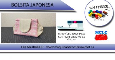 Vídeo tutorial: Bolsita Japonesa